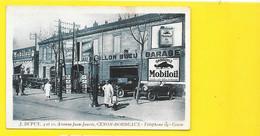 BORDEAUX-CENON Rare Garage Dupuy Mobiloil Pompe Essence (Barreau) Gironde (33) - Bordeaux