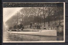 75 - Sous-Marin - Le Mongolfier - Au Pont De La Concorde ( Paris ) - Pendant L'emprunt De La Liberation - Onderzeeboten