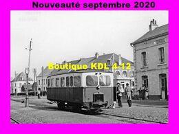 AL 663 - Autorail CGL En Gare - FRUGES - Pas De Calais - VFIL - Fruges