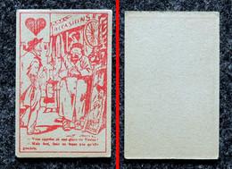 Image Humour 1890-1900 Carte à Jouer Illustrateur E. SERRE - Coeur - Brocanteur ( Judaïca ) - Otros
