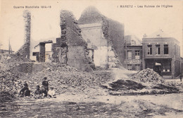 Maretz (59) - Les Ruines De L'Eglise - Altri Comuni
