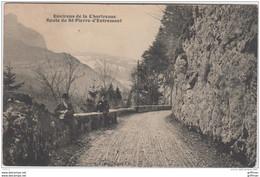 ENVIRONS DE LA CHARTREUSE ROUTE DE SAINT PIERRE D'ENTREMONT 1917 ANIMEE - Sonstige Gemeinden