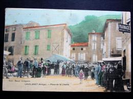 Belle CPA De LAVELANET : Place De La Liberté En 1907 - Ohne Zuordnung