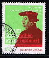 Bund 2019,Michel# 3464 O 500 Jahre Huldrych Zwingli's Reformation - [7] Federal Republic