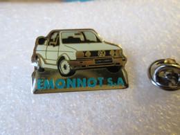 PIN'S   VOLKSWAGEN  GOLF   CABRIOLET   EMONNOT  S A - Volkswagen
