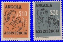 Angola 1959. ~  YT 411 à 12* - Pour Les Pauvres - Angola