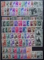 BELGIE 1941-42      11 Reeksen  Zie Foto   Spoor Van Scharnier *      CW 42,00 - Nuevos