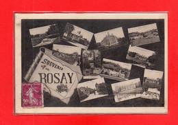 27-CPA ROSAY SUR LIEURE - SOUVENIR - Otros Municipios