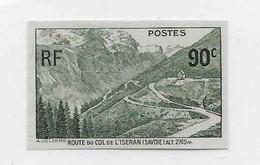 Col De L'Iseran Non-dentelé N°358 - Neufs