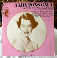 Lily Pons : A Lily Pons Gala - Opera / Operette