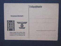 Feldpostkarte Kriegsauszeichnungen Silberne Spangen Zum Eisernen Kreuz 1939 - Weltkrieg 1939-45
