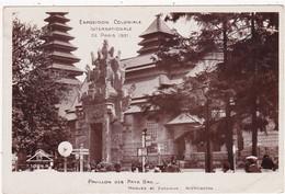 PARIS : Exposition Coloniale Internationale De Paris 1931 : Pavillon Des Pays Bas : - Ausstellungen