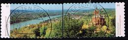 Bund 2020,Michel# 3517 - 3518 O  Deutschlands Schönste Panoramen: Bonn/Siebengebirge, Selbstklebend - [7] Repubblica Federale