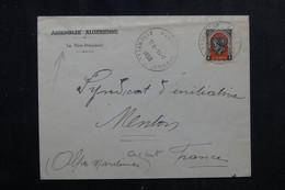 ALGÉRIE - Enveloppe + Oblitération De L 'Assemblée Algérienne En 1950 Pour Menton - L 72342 - Covers & Documents