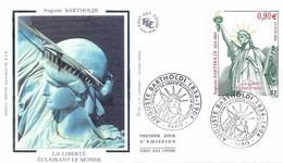 Enveloppe 1er Jour Auguste Bartholdi (YT 3639) - 2000-2009