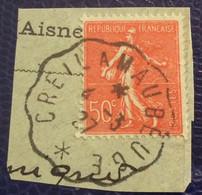 L355  Convoyeur Ligne Creil à Maubeuge Semeuse 199 - 1921-1960: Periodo Moderno