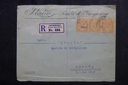 KENYA OUGANDA - Enveloppe En Recommandé De Mombasa Pour L 'Italie En 1925 - L 72353 - Kenya & Uganda