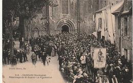 ***  24  ***  CADOUIN  Pélerinage Du Saint Suaire La Procession - Neuve TTB - Other Municipalities