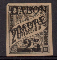 !!! PRIX FIXE : GABON, N°13 NEUF SANS GOMME SIGNE CALVES - Unused Stamps