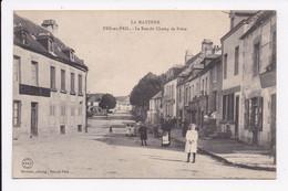 CP 53 PRE EN PAIL La Rue Du Champ De Foire - Pre En Pail
