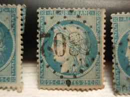 TIMBRE Cérès 25 C  N° 60  Oblitéré - 1802 - 1871-1875 Ceres