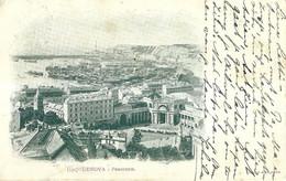 """9385"""" GENOVA-PANORAMA """"- FOTO ORIGINALE-CARTOLINA SPEDITA 1899 - Genova (Genoa)"""