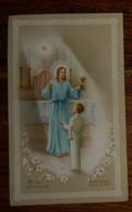 Image De Communion Solennelle. 1962 à Villers Les Pots. - Devotion Images