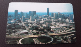 USA - GPT - Plessey Demo - Atlanta Pace 88 - White Reverse - 1988 - [3] Magnetic Cards