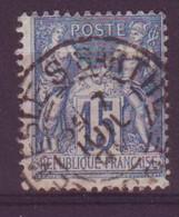 Le Mesle Sur Sarthe Orne (61) Oblitération Type A1 Sur Sage - 1877-1920: Semi-Moderne