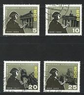 HH-/-668.- YVERT - SERIE COMPLETE - N° 860/63, Obl. Cote 2.00 €, IMAGE DU VERSO SUR DEMANDE - Used Stamps