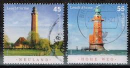 Bund 2006,Michel# 2555 - 2556 O Leuchttürme - Gebraucht