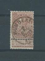 N° 61 OBLITERE  RUMBEKE - 1893-1900 Fine Barbe