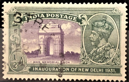 INDIA 1931- MLH - Sc# 130 - 1/2a - 1911-35 King George V