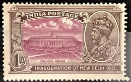 INDIA 1931 - Canceled - Sc# 131 - 1a - 1911-35 King George V