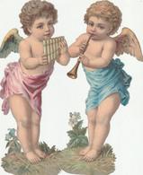 Anges 2 Grand Decoupi Anges Musiciens 21.5 X 8 Cm - Angels
