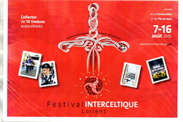France. Collector  De 10 Timbres Festival Interceltique.neuf Sous Blister - Collectors