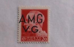 ITALIA 1945, VENEZIA GIULIA CENT 20, VARIETà MNH** - 7. Triest