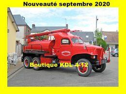 AL SP 107 - Camion Citerne Feux De Forêt Lourd GMC - LA BAZOCHE-GOUET - Eure Et Loir - Autres Communes