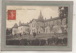 CPA -(38) ROYBON - Mots Clés: Hôpital Auxiliaire, Complémentaire, Militaire, Mixte, Temporaire - 1916 - Roybon