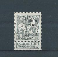 N° 100 OBLITERE SPA - 1910-1911 Caritas