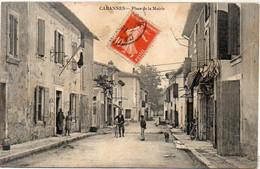 CABANNES - Place De La Mairie    (3755 ASO) - Otros Municipios