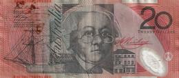 454 - BILLET 20 DOLLARS AUSTRALIEN RECOLLE SCAN RECTO VERSO - Australia