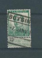 N° 121 OBLITERE BUYSIN(gen)? CHEMIN DE FER - 1912 Pellens