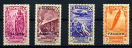Tánger (Beneficencia) Nº 17, 20/22. Año 1943 - Wohlfahrtsmarken
