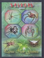 Papua New Guinea 2010 Spiders Sheetlet MNH - Papua-Neuguinea