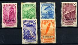 Tánger (Beneficencia) Nº 17/22. Año 1943 - Wohlfahrtsmarken