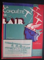 LA CONQUETE DE L'AIR 1933 N°8 MINERVA Sans Soupape-SAVOÏA MARCHETTI S. 55 X-GLOSTER SS.19 B-BRISTOL 120-HEINKEL He 70 - Aerei
