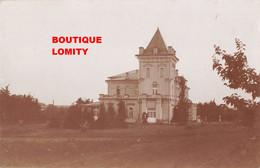 Estonie Tatu Cpa Carte Photo 1944 Chateau Manoir Ulikooli Ecole - Estonia