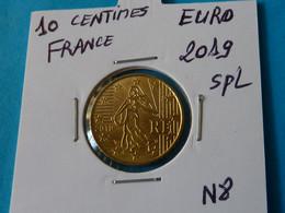 10 CENTIMES  EURO  FRANCE 2019 Spl - N 8  ( 2 Photos ) - France