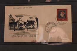 Saarland, FDC: Fugger; MiNr. 445 - Otros